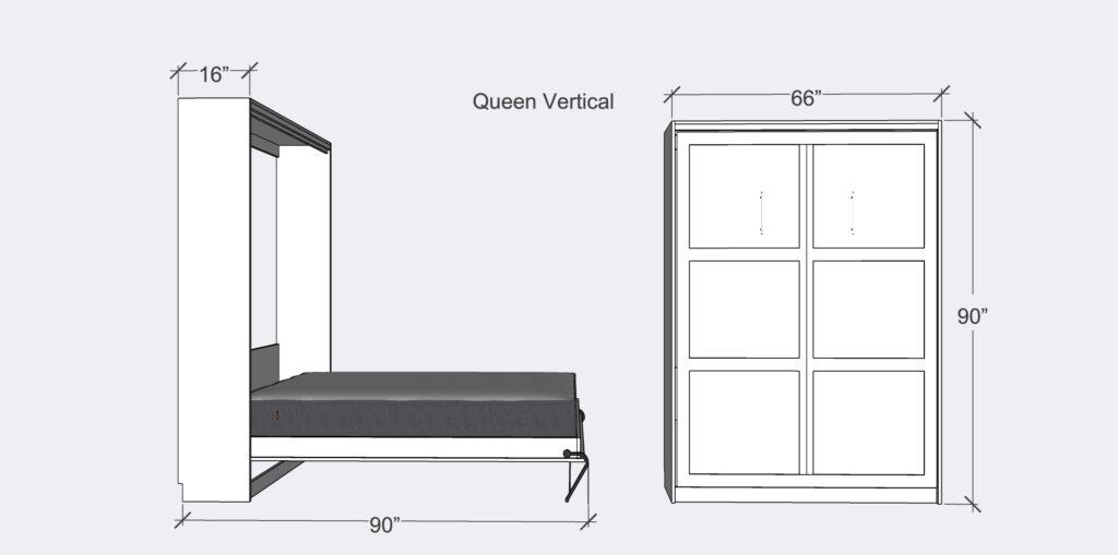 QMB vertical dimensions 1024x509 1 - Vertical Beds